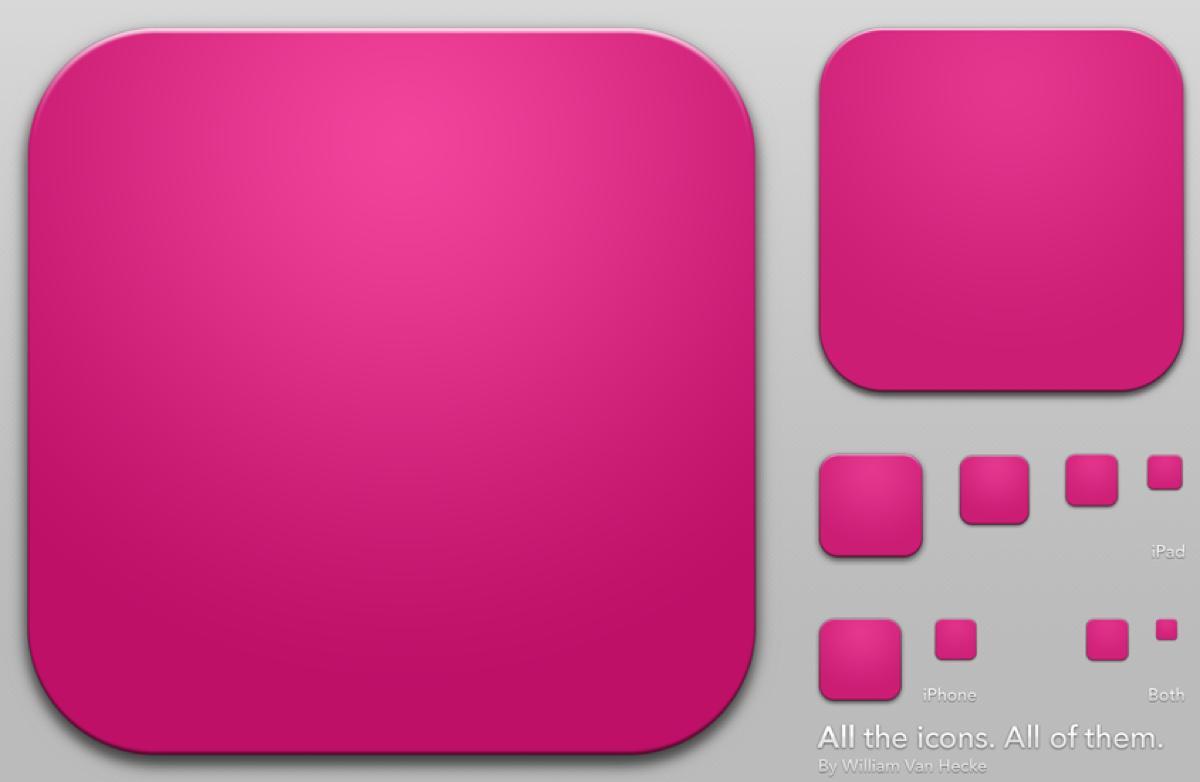 Blank Icon Or Button Of The App For Web And Mobile Systems ...