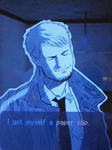 I got myself a paper clip