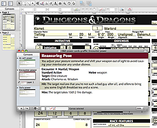 D&D for OmniGraffle